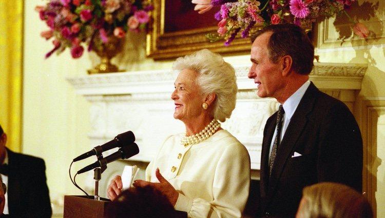 El ex Presidente junto a su mujer Barbara |Foto: Twitter