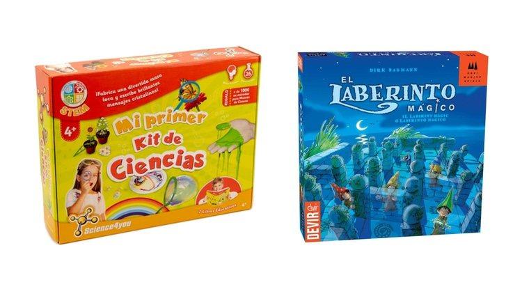 Kit de ciencia y El laberinto