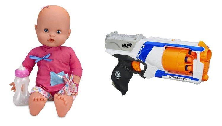 Nenuco Moquitos y pistola NERF