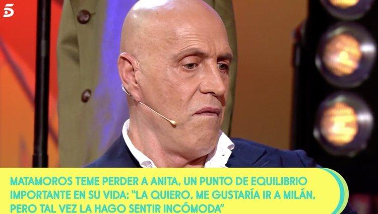 Kiko Matamoros habla sobre su hija en 'Sálvame' |Foto:Telecinco.es