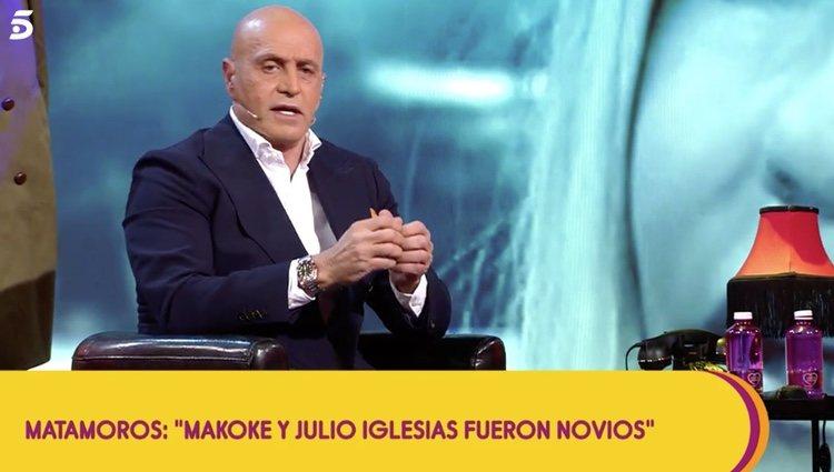 Kiko Matamoros cuenta desvela la verdad sobre Makoke y Julio Iglesias |Foto:Telecinco.es