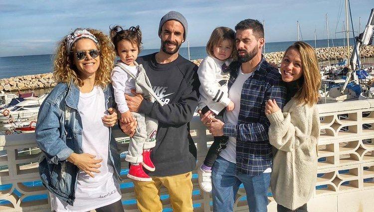 Yoli y Jonathan juntos en Valencia |Foto:Instagram