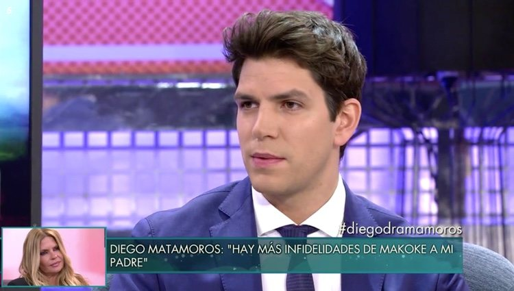 Diego Matamoros en 'Sálvame Deluxe' hablando sobre Makoke