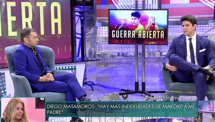Diego Matamoros en 'Sálvame Deluxe'