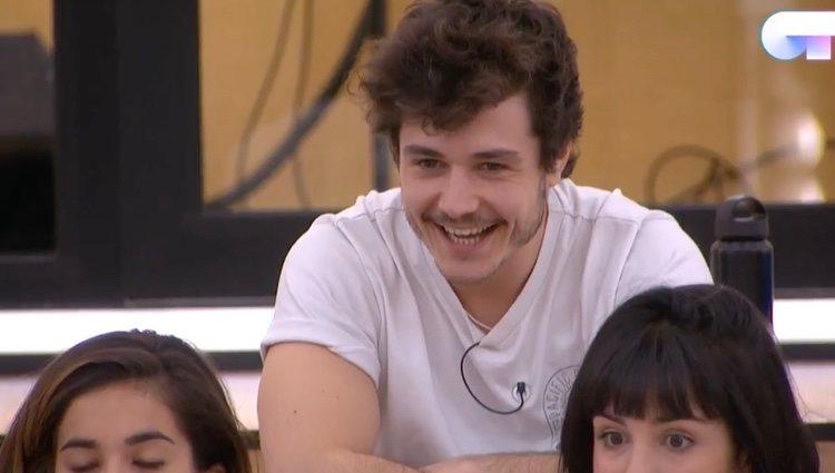 Los concursantes enterándose de los temas / Canal 24 horas 'OT 2018'