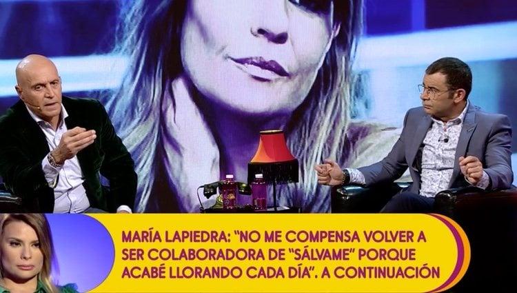 Kiko Matamoros en 'Sálvame'| Foto: Telecinco.es