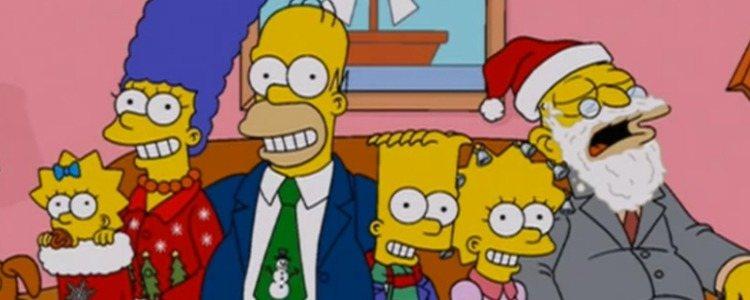 La familia Simpson, los protagonistas de la serie animada de Matt Groening