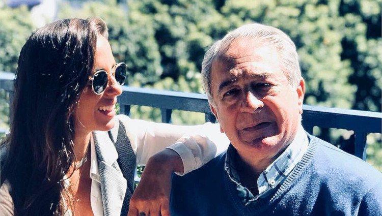 Anabel Pantoja con su padre Bernardo/Foto:Instagram