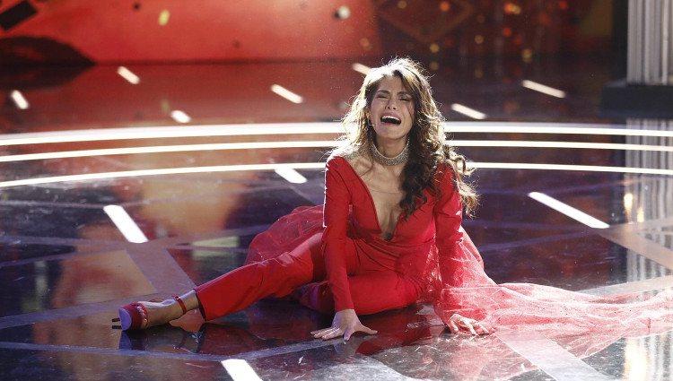 Miriam Saavedra en el momento de ser proclamada ganadora | Twitter @ghoficial