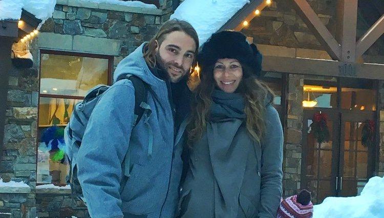 Pedro Mérida con su mujer / Instagram