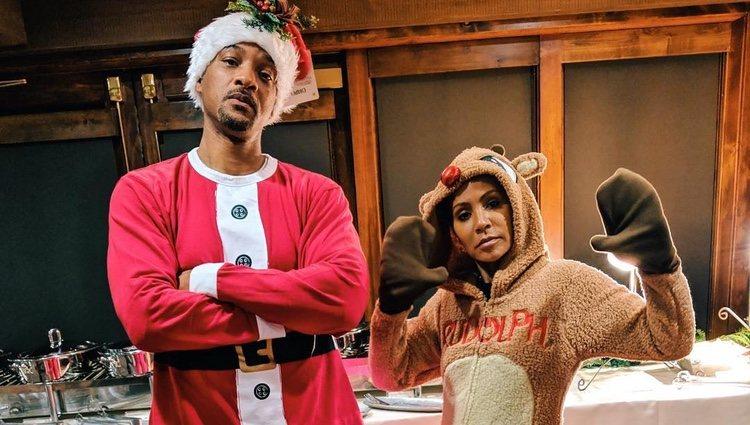 Will y Jada Smith disfrazados por Navidad | Foto: Instagram