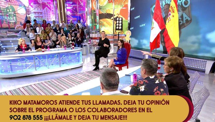 Carlos Lozano arremetió también contra los colaboradores | Foto: Telecinco.es