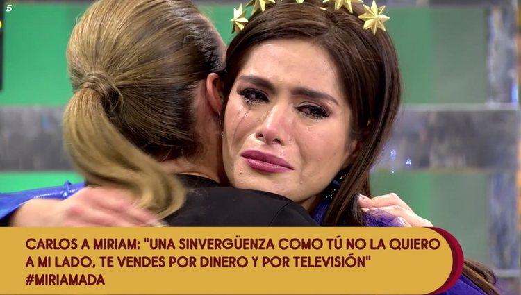 Miriam Saavedra destrozada | Foto: Telecinco.es