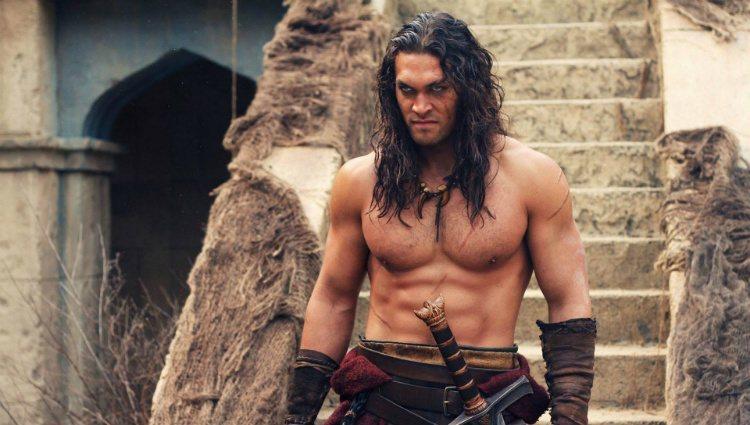 Jason Momoa en un fotograma del remake 'Conan El Bárbaro'