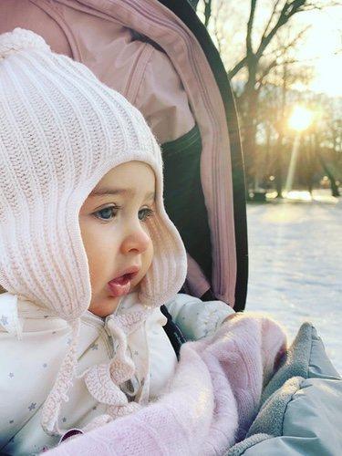 La adorable foto de Adrienne de Suecia / Instagram