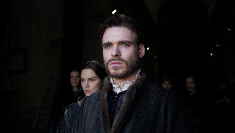 Richard Madden como Cosimo en la serie 'Los Medici: Señores de Florencia'