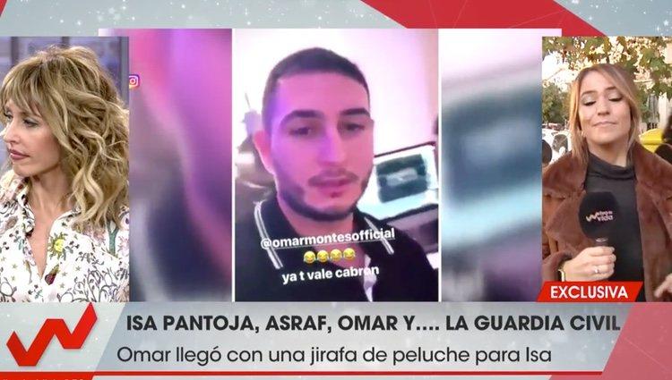 Omar tras su expulsión de la casa de Chabelita| Foto: Telecinco.es