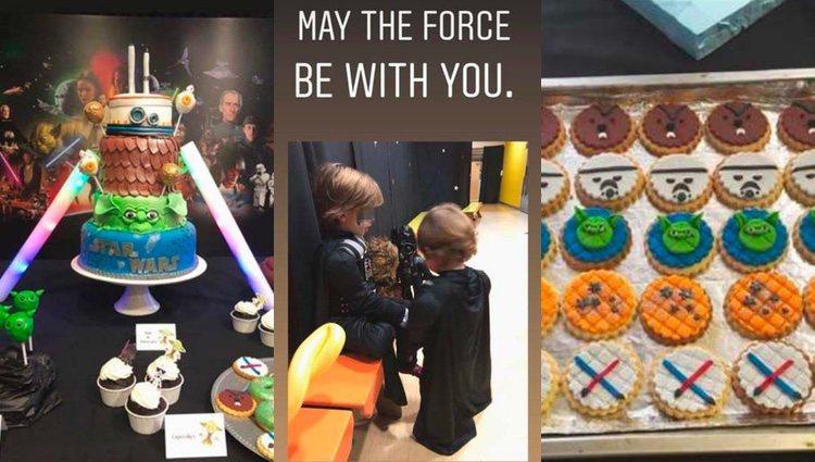 No faltó de nada en la fiesta de Star Wars / Instagram