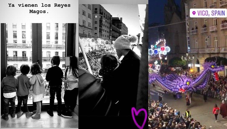 Recibieron a los Reyes Magos en Vigo / Instagram