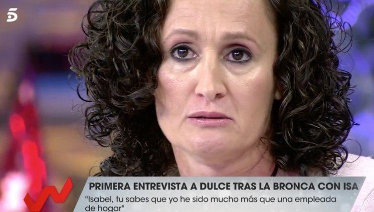 Dulce habla de Isabel Pantoja en 'Vida la vida' | Foto: Telecinco.es