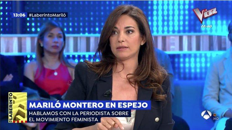 Mariló Montero durante su intervención en 'Espejo Público' | Foto: Antena 3