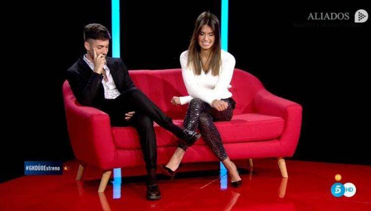 Alejandro Albalá y Sofía Suescun se reencuentran en 'GH DÚO' |telecinco.es