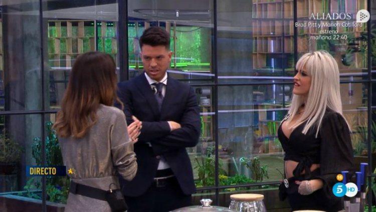 Fede Rebecchi concursa con sus exnovias Ylenia y Raquel | telecinco.es