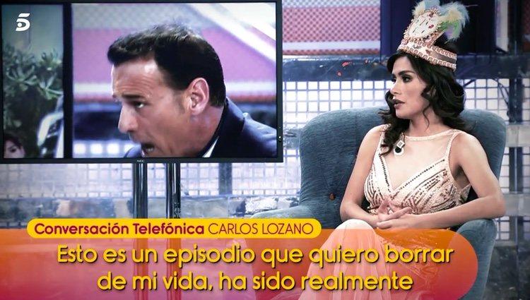 Carlos Lozano quiere olvidar a Miriam Saavedra / Telecinco.es