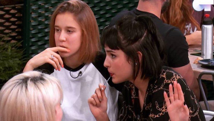 Natalia y Elena Lancunza en la Academia | Foto: Canal 24 horas