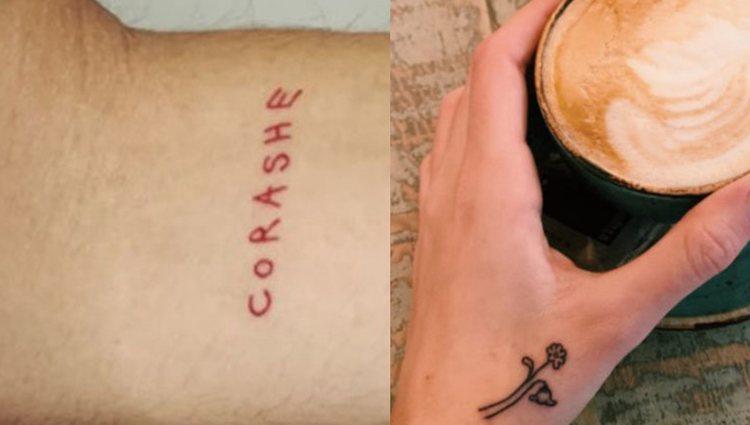 Los nuevos tatuajes de Natalia hechos por Pablo Amores | Fotos: Instagram Stories