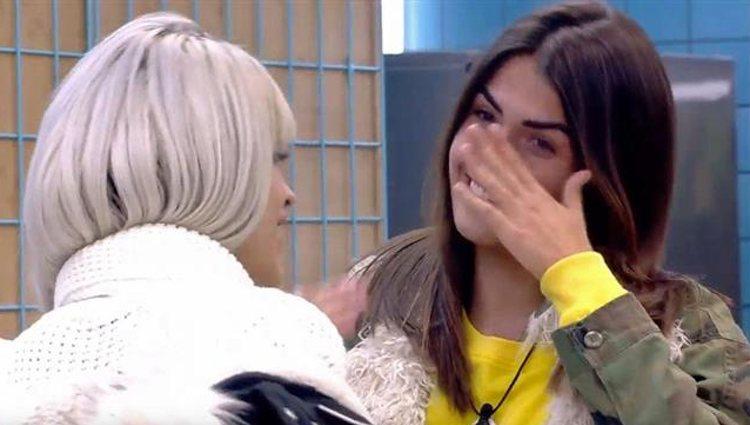 Ylenia y Sofía Suescun se emocionan hablando | Foto: Telecinco.es