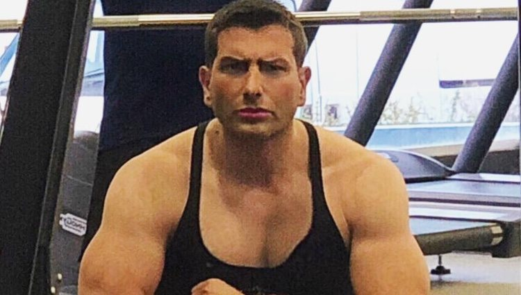 Iván Madrazo en el gimnasio | Instagram