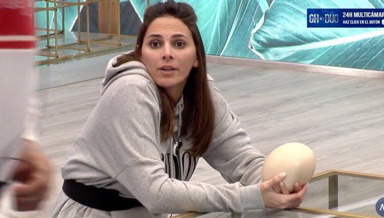 Irene Rosales dando su opinión | Foto: Canal 24 horas 'GH DÚO'