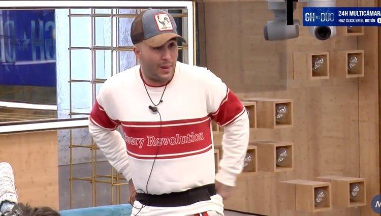 Kiko Rivera hablando de su relación con Chabelita | Foto: Canal 24 horas 'GH DÚO'
