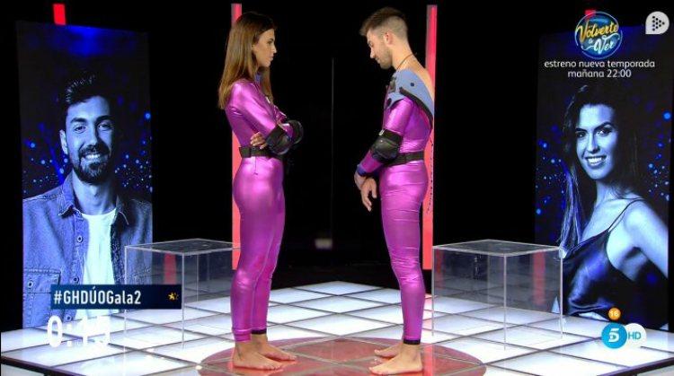 Sofía y Alejandro estrenan la la 'Sala de la Verdad' en 'GH DÚO'
