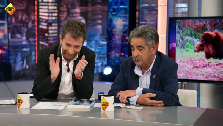 Pablo Motos y Miguel Ángel Revilla ! Foto: Antena3