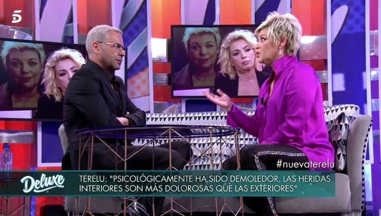 Jorge Javier Vázquez y Terelu Campos en 'Sábado Deluxe' | Foto: telecinco.es