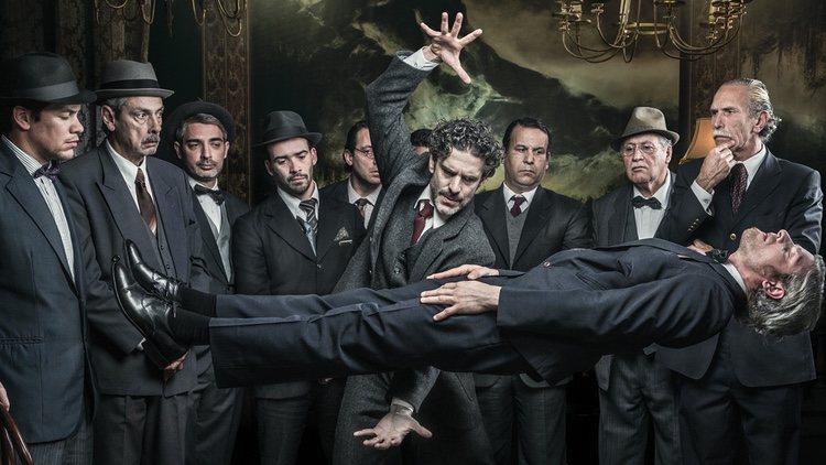 Fotografía promocional de 'El hipnotizador'