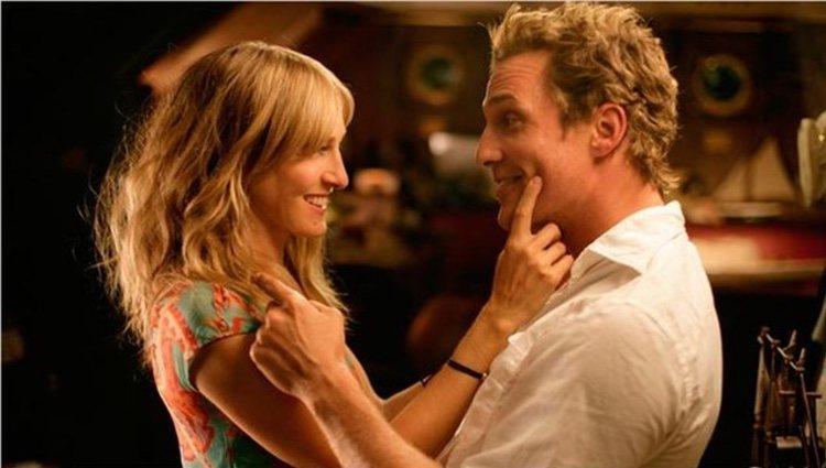 Matthew McConaughey haciendo un cameo en 'Sexo en Nueva York'