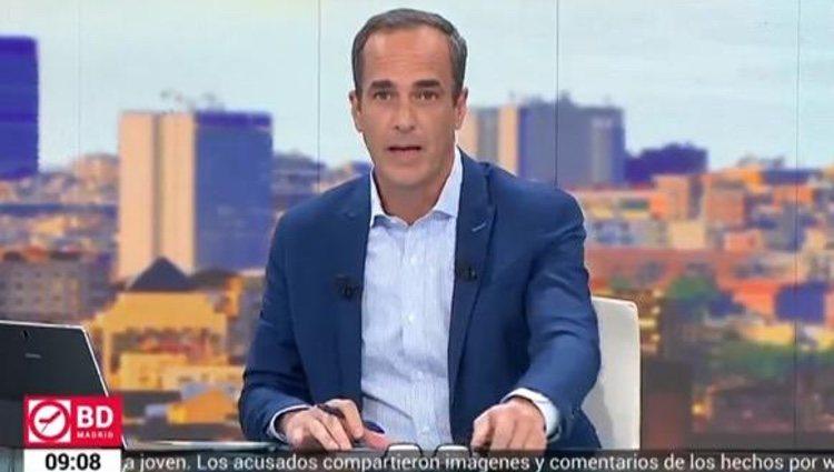 Santi Acosta en 'Buenos días, Madrid' | Foto: Telemadrid