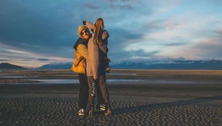 Fotografía que subió Ariana Grande a sus historias con Mac Miller| Foto: Instagram