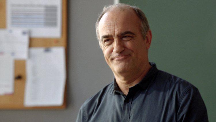Merlí Bergeron, profesor de filosofía del instituto Àngel Guimerà
