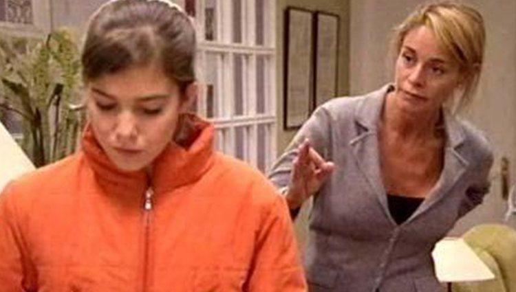 Lucía habla con Teté en 'Los Serrano'