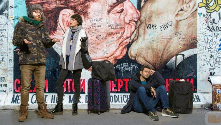 Manuel Burque, Belén Cuesta y Antonio Velázquez en 'Buscando el norte' | Foto: FormulaTV