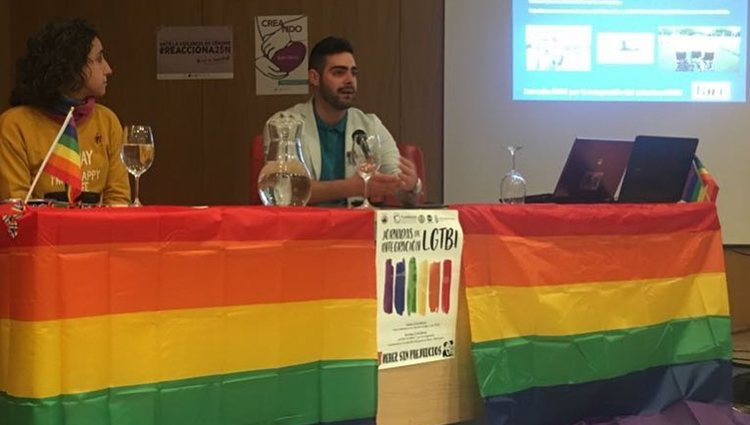Jesús Tomillero durante una charla | Foto: Instagram