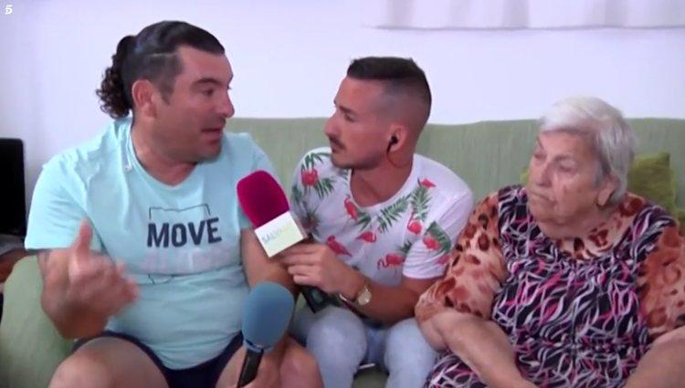 La familia de Georgina Rodriguez hablando para 'Socialité' | Foto: Telecinco.es