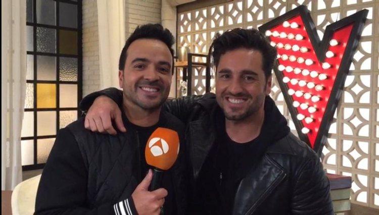 Bustamante era asesor de Fonsi en 'La Voz' | Foto: Antena 3
