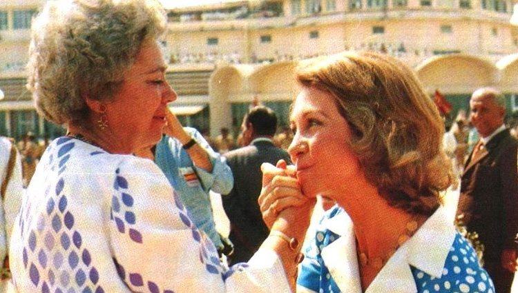 La Reina Sofía visita a Federica de Grecia en Madrás | Instagram