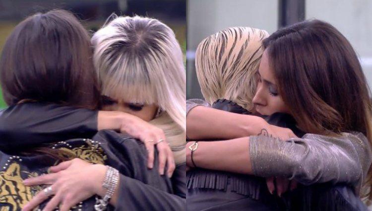 Sofía y María Jesús se despiden de sus amigas antes de ir a la sala de expulsión | telecinco.es