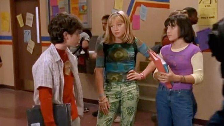 Lizzie con sus amigos Miranda y Gordo